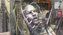 Estátua de Ibrahimovic ganha forma e avançado rejubila