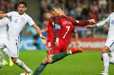 Portugal-Chile, 0-0 (Fim do prolongamento)