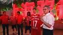 Bayern realizou concurso de dança e Renato Sanches... deixou a sua marca