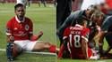 Jogo agridoce para Salvio: grande golo e lesão no joelho