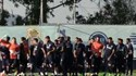 Diego Reyes levou uns valentes 'cachaços' no treino do FC Porto
