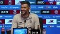 A pergunta era sobre o Benfica, Conceição sorriu e disse o que sente