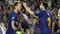 Rakitic também faz 'ligação' entre saída de Neymar e Messi... como Mathieu