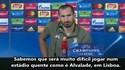 Chiellini: «O Sporting era a equipa mais forte do pote 4»