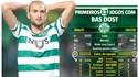 A seca de golos de Bas Dost que (não) faz mossa no Sporting