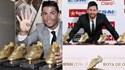 Entre Botas e distinções de melhor do Mundo, Ronaldo e Messi não se largam