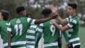 Sporting goleia Sintrense por 6-0