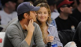 Kate Hudson foi ver os Lakers