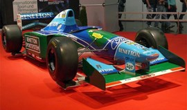 Benetton de Schumacher à venda no eBay