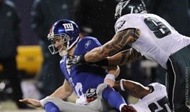 New York Giants em queda