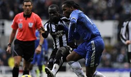 Newcastle trava Chelsea
