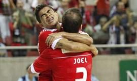 Benfica goleia Fundação Jorge Antunes (7-0)