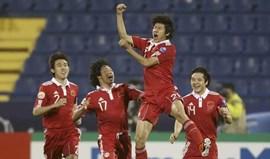 Mundial'2014: China e Singapura em boa posição