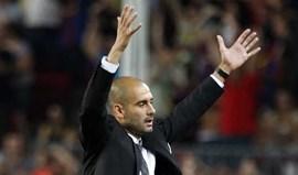 Guardiola: «Tentámos tudo de todas as maneiras»