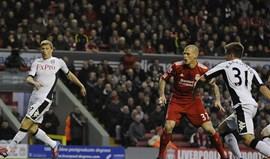 Liverpool derrotado pelo Fulham