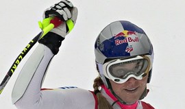 Esqui Alpino: Vonn vence Super-G em Lake Louise