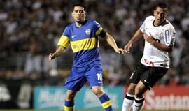 Juan Roman Riquelme poderá reforçar Santos