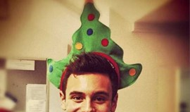 Tom Daley está pronto para o Natal