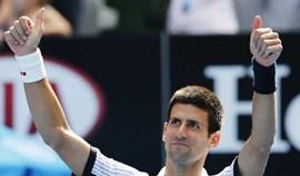 Novak Djokovic nos oitavos-de-final