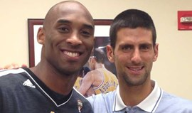 Djokovic apoiou LA Lakers no Staples Center