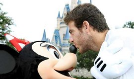 Del Potro rendido à Disney World