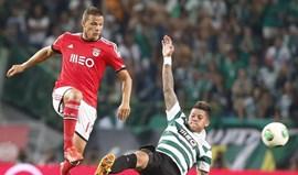 Benfica favorito no dérbi da Taça