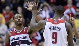 John Wall lidera Wizards no triunfo frente aos Lakers