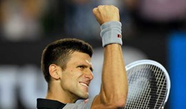 Novak Djokovic nos oitavos-de-final