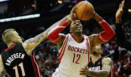 Miami Heat derrotados em Houston (106-103)