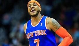 Carmelo Anthony renova pelos New York Knicks