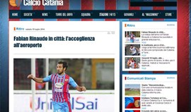 Fito Rinaudo confirmado no Catania