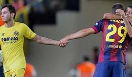 Surpreendente Sandro Ramírez deu a vitória ao Barça