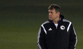 Safet Susic despedido do comando técnico da Bósnia