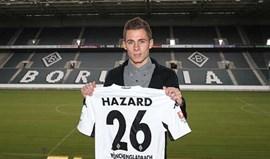 Thorgan Hazard até 2020 no Borussia Monchengladbach