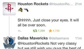 Gestor dos Houston Rockets despedido por causa de tweet ofensivo