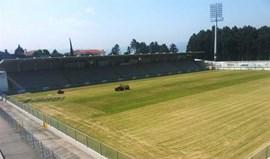 Estádio Comendador Joaquim de Almeida Freitas alvo de obras