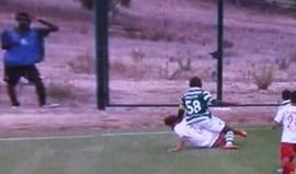 A arrepiante lesão de Mauro Riquicho