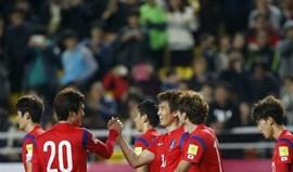 Setubalense Suk marca na goleada da Coreia do Sul