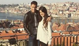 Tello e a sua bela Lorena rendidos ao Porto