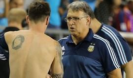 Tata Martino diz que Messi não vai aos Jogos Olímpicos