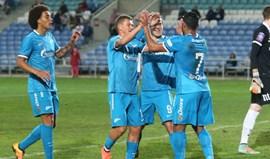 Rússia: Zenit vence segundo jogo da Taça Atlântico