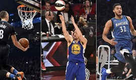 LaVine, Klay Thompson e Towns brilham no All Star Weekend