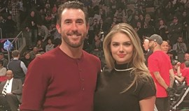 Kate Upton namora no All Star Game