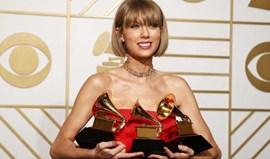 Taylor Swift e Lamar foram os grandes vencedores dos Grammy
