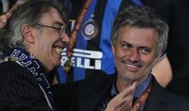 José Mourinho visita Milão para ver o Inter