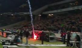 Foi esta a tocha que valeu 90 mil euros de multa ao Wolfsburgo