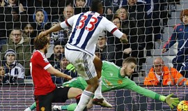 Manchester United perde no terreno do WBA