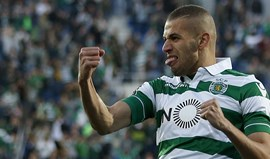 Slimani agita frasco do ketchup