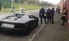 Nasri ficou sem Lamborghini avaliado em 418 mil euros
