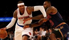 Carmelo Anthony diz que aceitaria reduzir salário para jogar com LeBron James